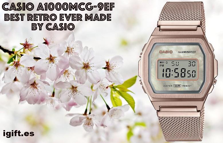 CASIO A1000MCG-9EF